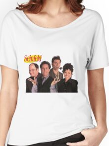 Seinfeld Cast Women's Relaxed Fit T-Shirt
