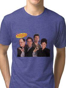 Seinfeld Cast Tri-blend T-Shirt