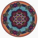 Colorful Mandala by Jeff East