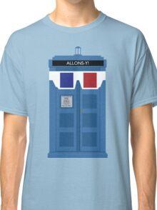 Allons-y! Tardis Classic T-Shirt