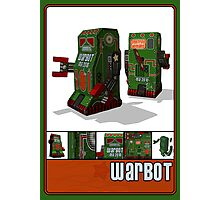 Tin Clockwork War Bot Destroy Humans Photographic Print