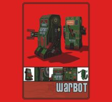 Tin Clockwork War Bot Destroy Humans Kids Clothes