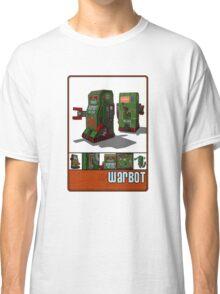 Tin Clockwork War Bot Destroy Humans Classic T-Shirt