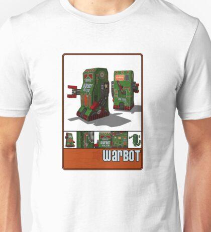 Tin Clockwork War Bot Destroy Humans Unisex T-Shirt