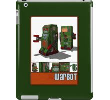 Tin Clockwork War Bot Destroy Humans iPad Case/Skin