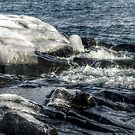 Water And Ice by Sian Houle