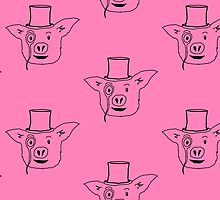 Mr. Fancy Pig by Melalee