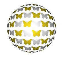 Butterfly globe by RosiLorz