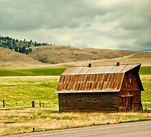 Powell County (Montana) Barn by Bryan D. Spellman