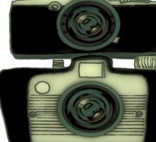 Towering cameras  Sticker