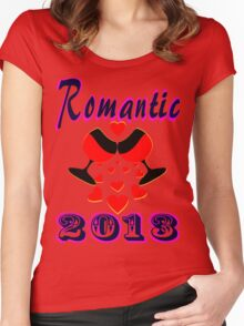 °•Ƹ̵̡Ӝ̵̨̄Ʒ♥Romantic 2013 Splendiferous Clothing & Stickers♥Ƹ̵̡Ӝ̵̨̄Ʒ•° Women's Fitted Scoop T-Shirt