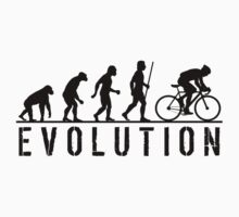 Cycling Evolution of Man by movieshirtguy
