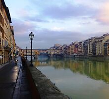 River to Road, Florence by KelPhotography