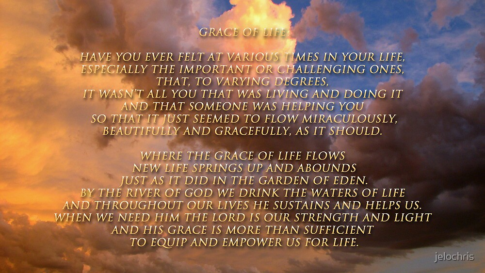 GRACE OFLIFE by jelochris