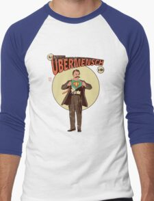 Übermensch Men's Baseball ¾ T-Shirt