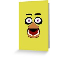 Simplistic Chica Greeting Card