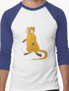 Sea Otter Men's Baseball ¾ T-Shirt