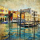 Oil painting of Venice by skycn520