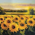Sunflower watercolor by skycn520