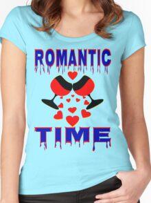 °•Ƹ̵̡Ӝ̵̨̄Ʒ♥Romantic Time Splendiferous Clothing & Stickers♥Ƹ̵̡Ӝ̵̨̄Ʒ•° Women's Fitted Scoop T-Shirt