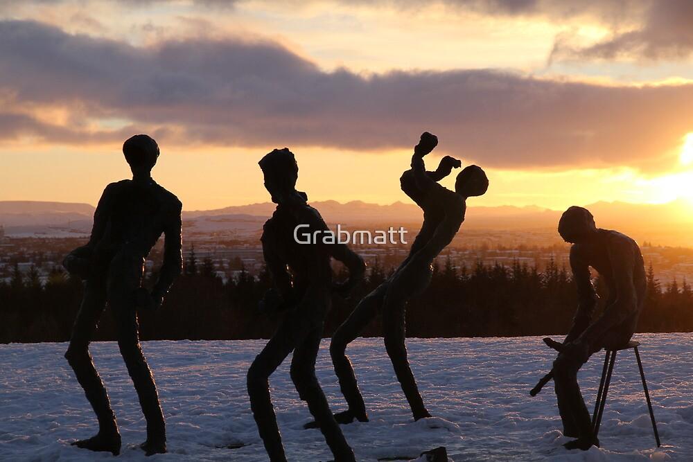 Frozen Sculptures by Grabmatt