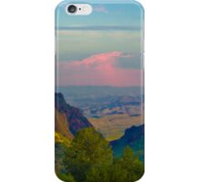 Chisos Mountains - Big Bend National Park iPhone Case/Skin