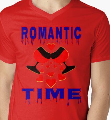 °•Ƹ̵̡Ӝ̵̨̄Ʒ♥Romantic Time Splendiferous Clothing & Stickers♥Ƹ̵̡Ӝ̵̨̄Ʒ•° Mens V-Neck T-Shirt