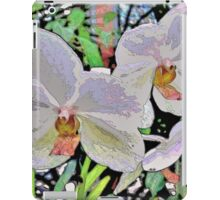 Orchid Abstract iPad Case/Skin
