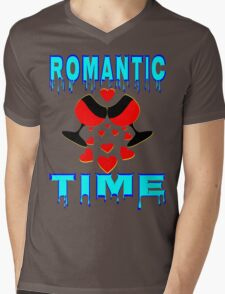 °•Ƹ̵̡Ӝ̵̨̄Ʒ♥Romantic Time Splendiferous Clothing & Stickers♥Ƹ̵̡Ӝ̵̨̄Ʒ•° Mens V-Neck T-Shirt