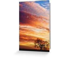 Morning Has Broken Like the First Dawning Portrait Greeting Card