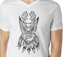 Night Owl gets the Vibe Mens V-Neck T-Shirt