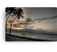 Denarau Island Sunset (2), Fiji Canvas Print