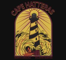 CAPE HATTERAS NORTH CAROLINA SURFING by Larry Butterworth
