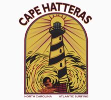 CAPE HATTERAS NORTH CAROLINA SURFING Kids Clothes
