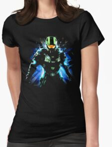 Halo Life Womens Fitted T-Shirt