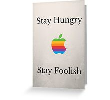 Steve Jobs Quote Greeting Card