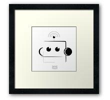 Robot (beep boop) Framed Print