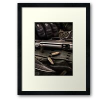 THE SOLDIER IN ME Framed Print