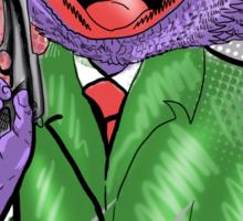 Gangsta Lizard Sticker