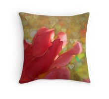 Valentine Rose Throw Pillow