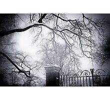 Haunted House! Photographic Print