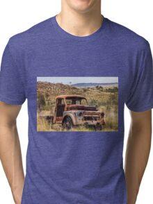 Old Truck Marble Bar WA  Tri-blend T-Shirt