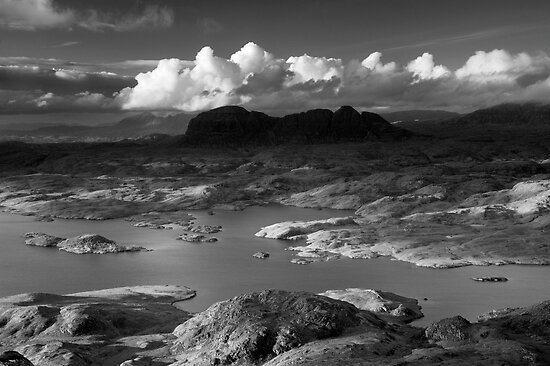 Suilven, Scotland. by Justin Foulkes