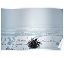snow landscape Poster