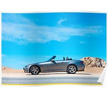 S2000 in the beautiful California Sun Poster