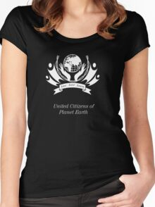 United Citizens of Planet Earth Women's Fitted Scoop T-Shirt