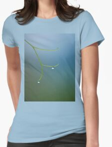 Passionfruit Tendrils Womens Fitted T-Shirt