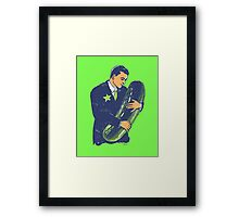 Hold The Pickle - American Oddities #3 Framed Print