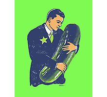 Hold The Pickle - American Oddities #3 Photographic Print