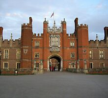 Hampton Court Palace by Lucy Wilson